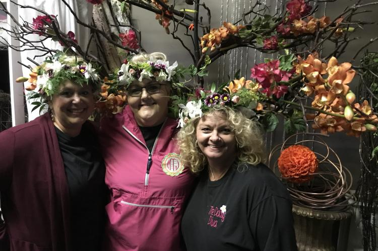 Workshops at the Las Vegas School of Floral Design